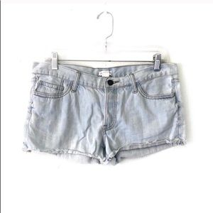 FOREVER 21 • bleached out cutoffs denim shorts 30